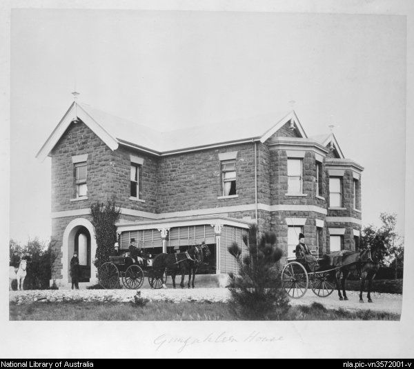 Gungahlin Homestead, Canberra, ca. 1890 [picture].  built for William Davis snr