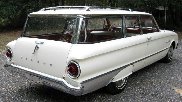 Survivor Wagon 1962 Ford Falcon Ford Falcon Station Wagon
