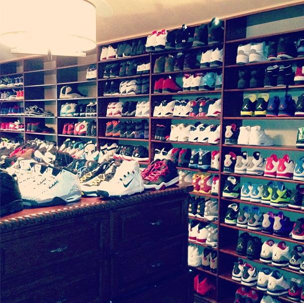 LA Clippers Superstar Chris Paul Trusts Closet Factory To Handle His Impressive Shoe Collection