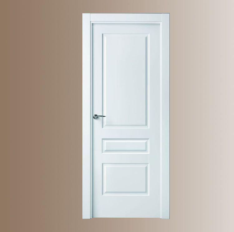 Puerta blanca plafones 3 puertas y ventanas esquivias for Puerta blindada blanca