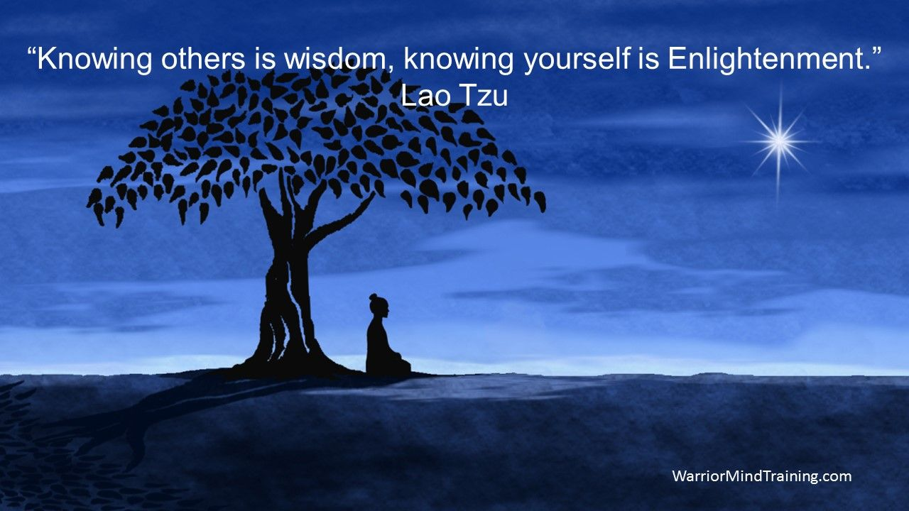 """Enlightone: """"Knowing Others Is Wisdom, Knowing Yourself Is"""