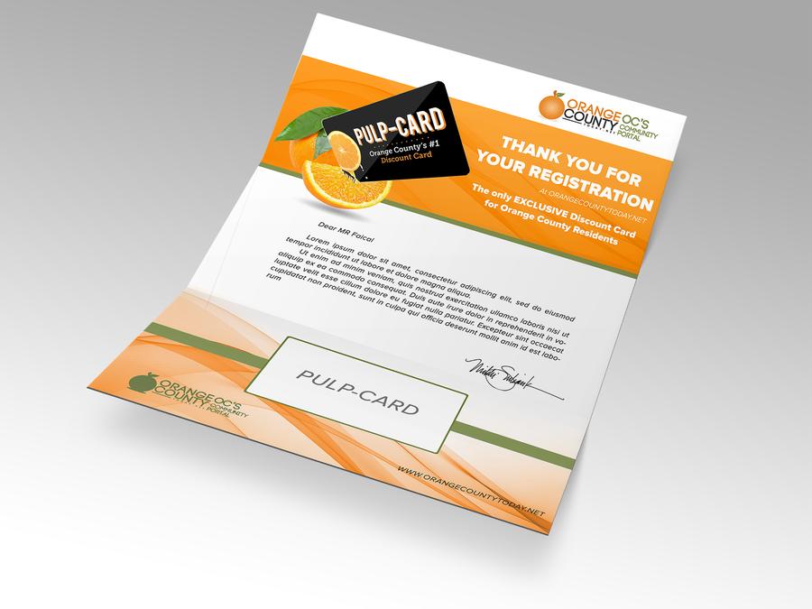 Create a Contemporary, Catchy, Fun Discount Card Mailer by MEZZOUR Faical