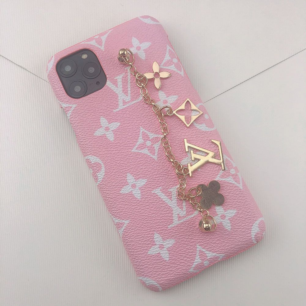 Louis vuitton iphone xs max case charms iphone 7 case pink