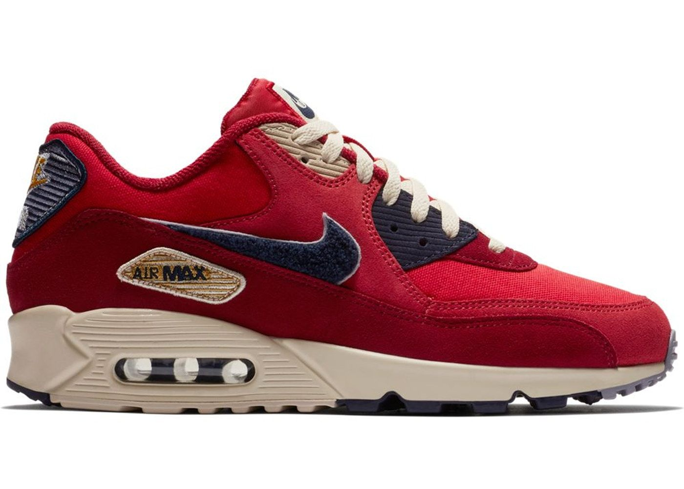 Nike Air Max 90 Essential WMNS 37,5 black university red
