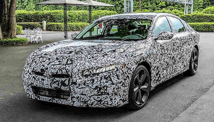 2018 Honda Accord Spy Shots >> 2020 Honda Accord Spy Shots Honda Accord Coupe Honda