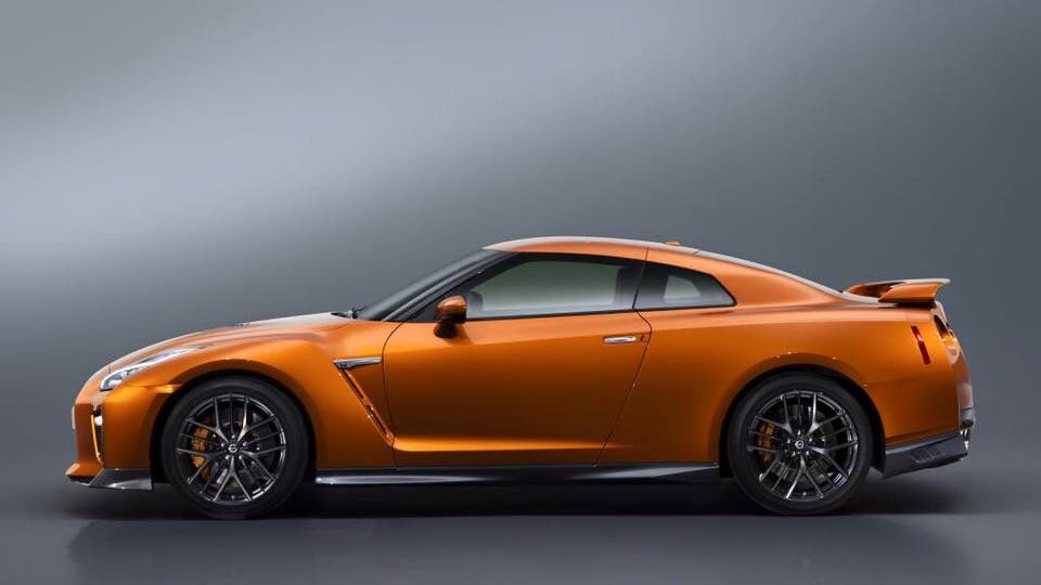 Nissan Skyline R35 2017 Facelift