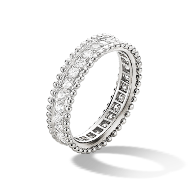 The Estelle Wedding Band By Van Cleef Arpels Offers A New Take On Eternity