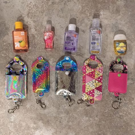 Open Tab Hand Sanitizer Case Eyelet Hand Sanitizer Hand