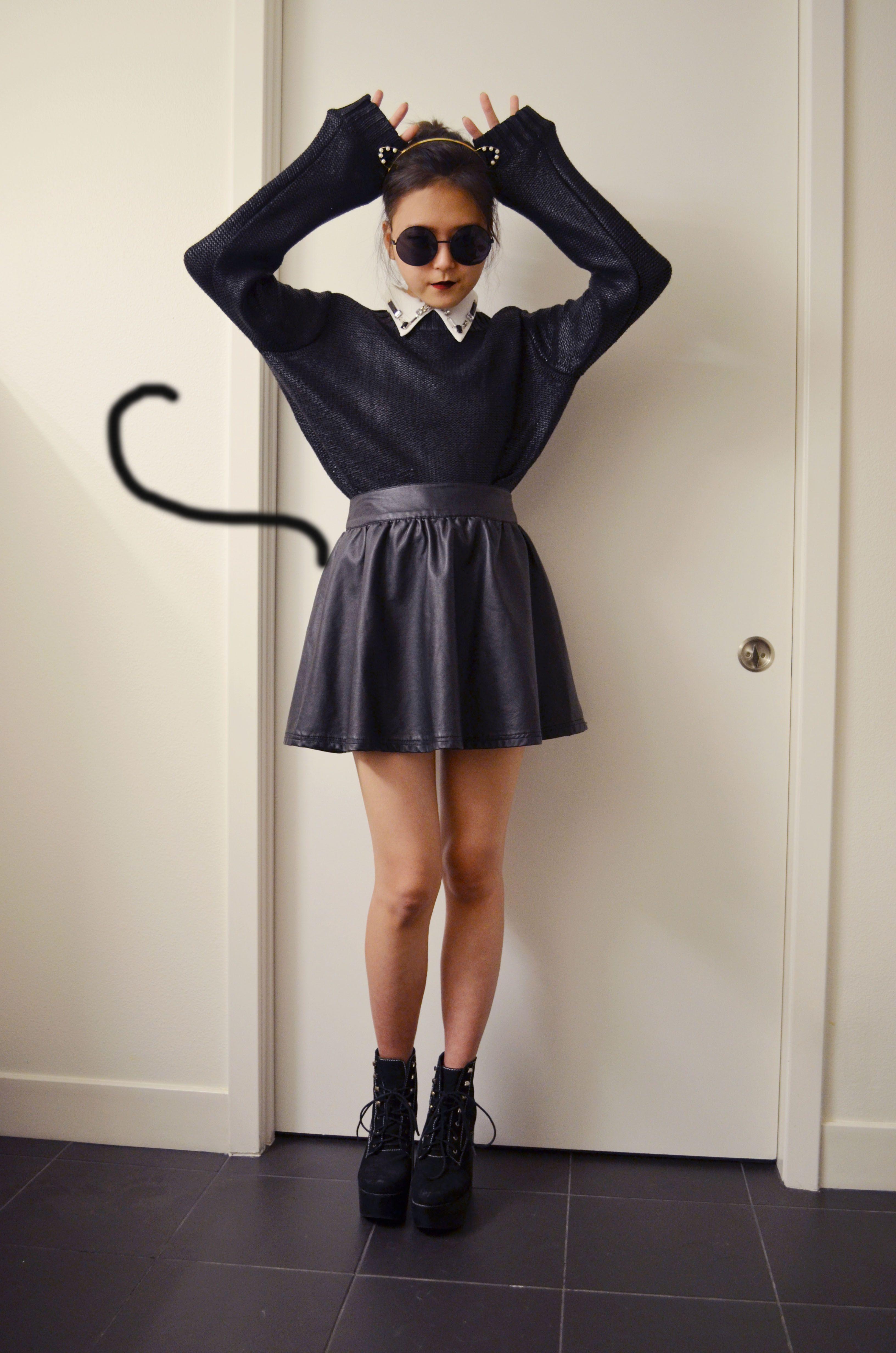 Q2HAN DIY Cat Ear Headband Attractive clothing, Street