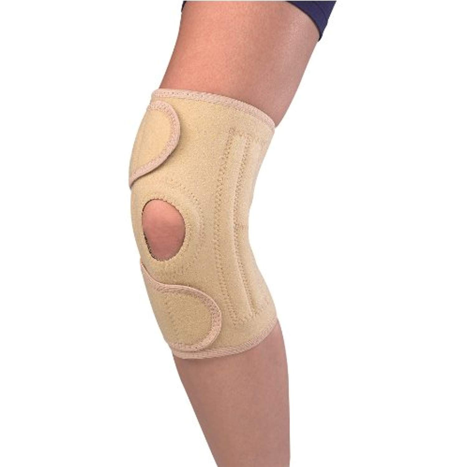 5e819cf66d Mueller Sports Medicine Open Patella Knee Stabilizer, Beige, One Size Fits  Most *** Read more reviews of the product by visiting the link on the image.