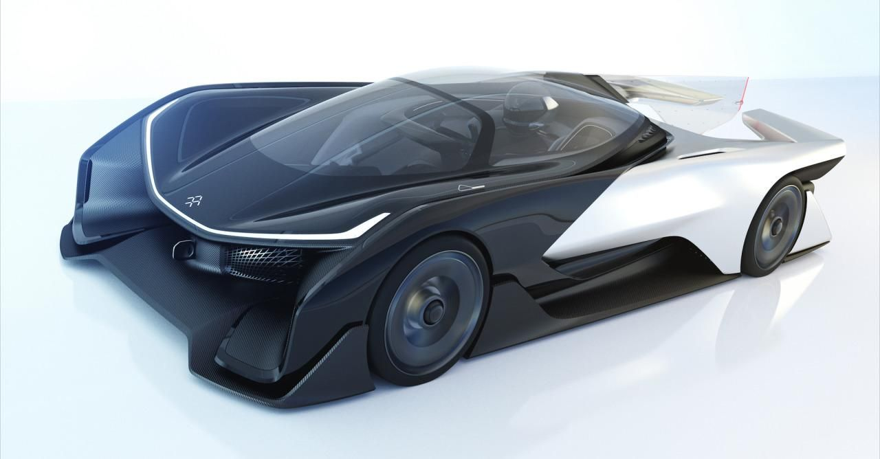 Faraday Future Just Revealed Its New Electric Car Concept The Ffzero1 But Its Production Cars Are Still A Long Way Off Faraday Future Electric Car Concept Electric Cars