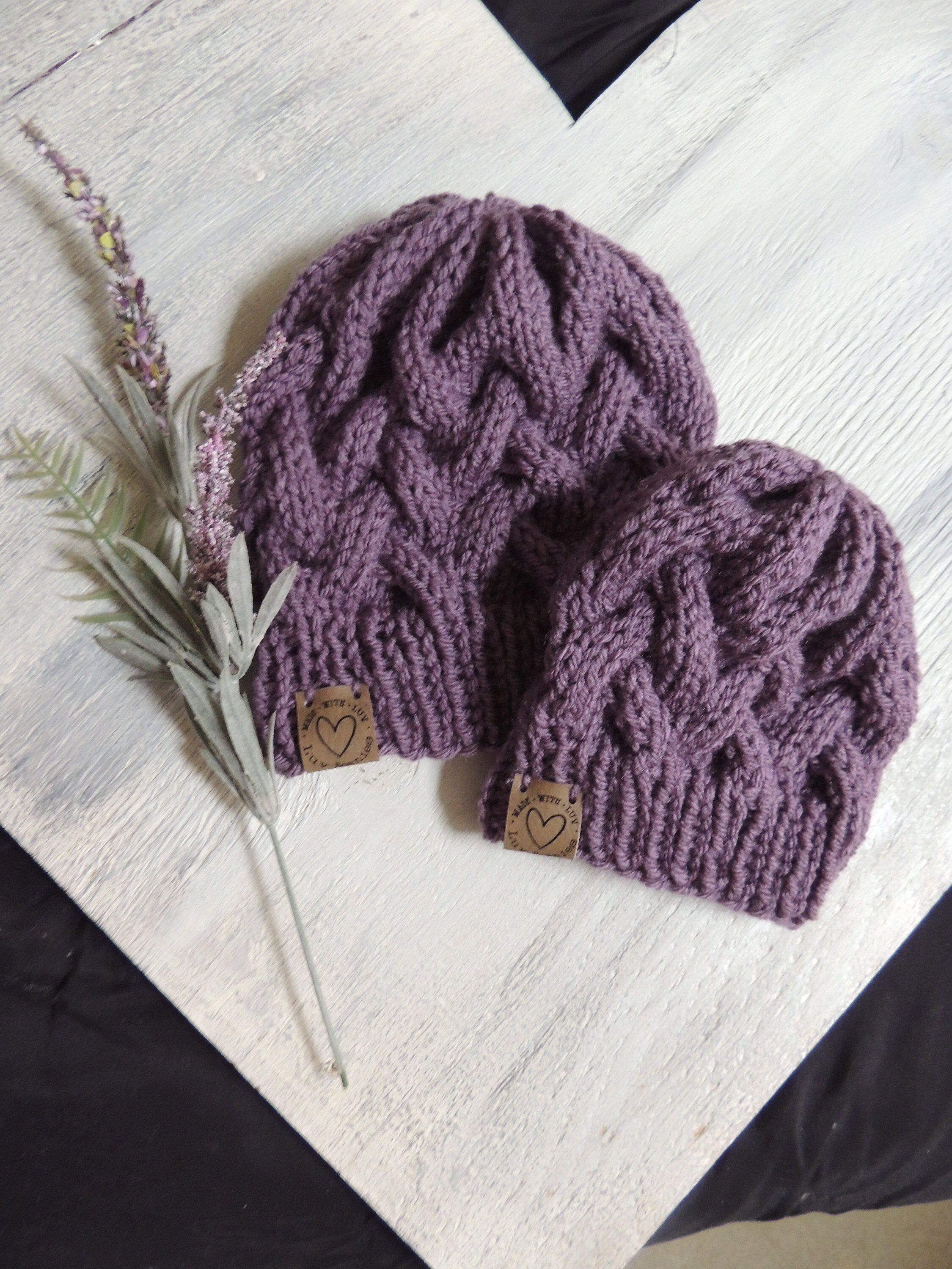Excited To Share This Item From My Etsy Shop Knit Ski Hats Luv Beanies Girl Hats Knit Stocking Hats Girl Stockin Knitted Hats Stocking Hat Cable Knit Hat