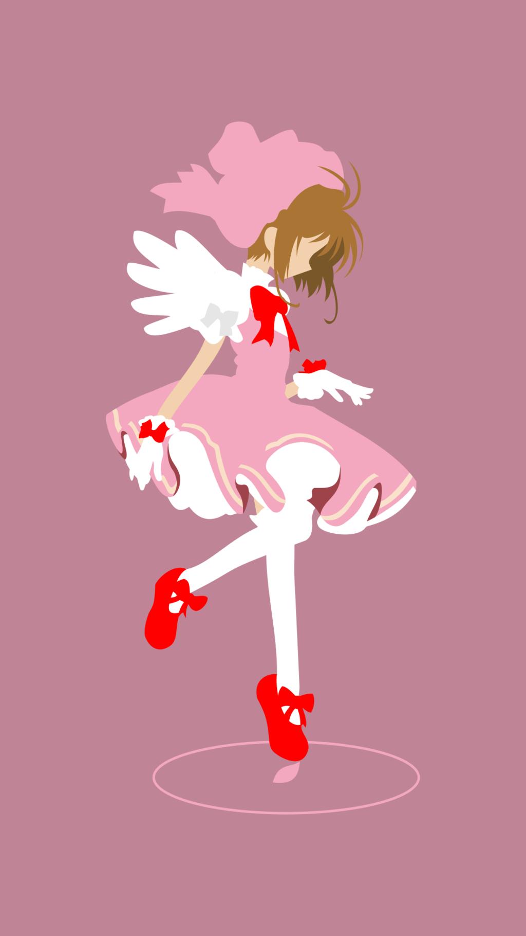 Sakura Kinomoto Card Captor Sakura Pink By N3vyck Sakura Card