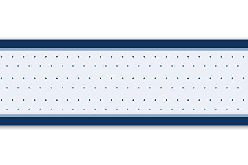 Selbstklebende Bordure Blaue Kreise 4 Teilig 560x15cm Tapetenbordure Wandbordure Borte Wanddeko Retr Tapeten Borduren Selbstklebende Bordure Wandbordure