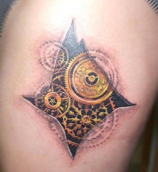 Biomechanik tattoo 20 coole ideen und inspirierende bilder 3d t towierungen biomechanik - Inspirierende bilder ...