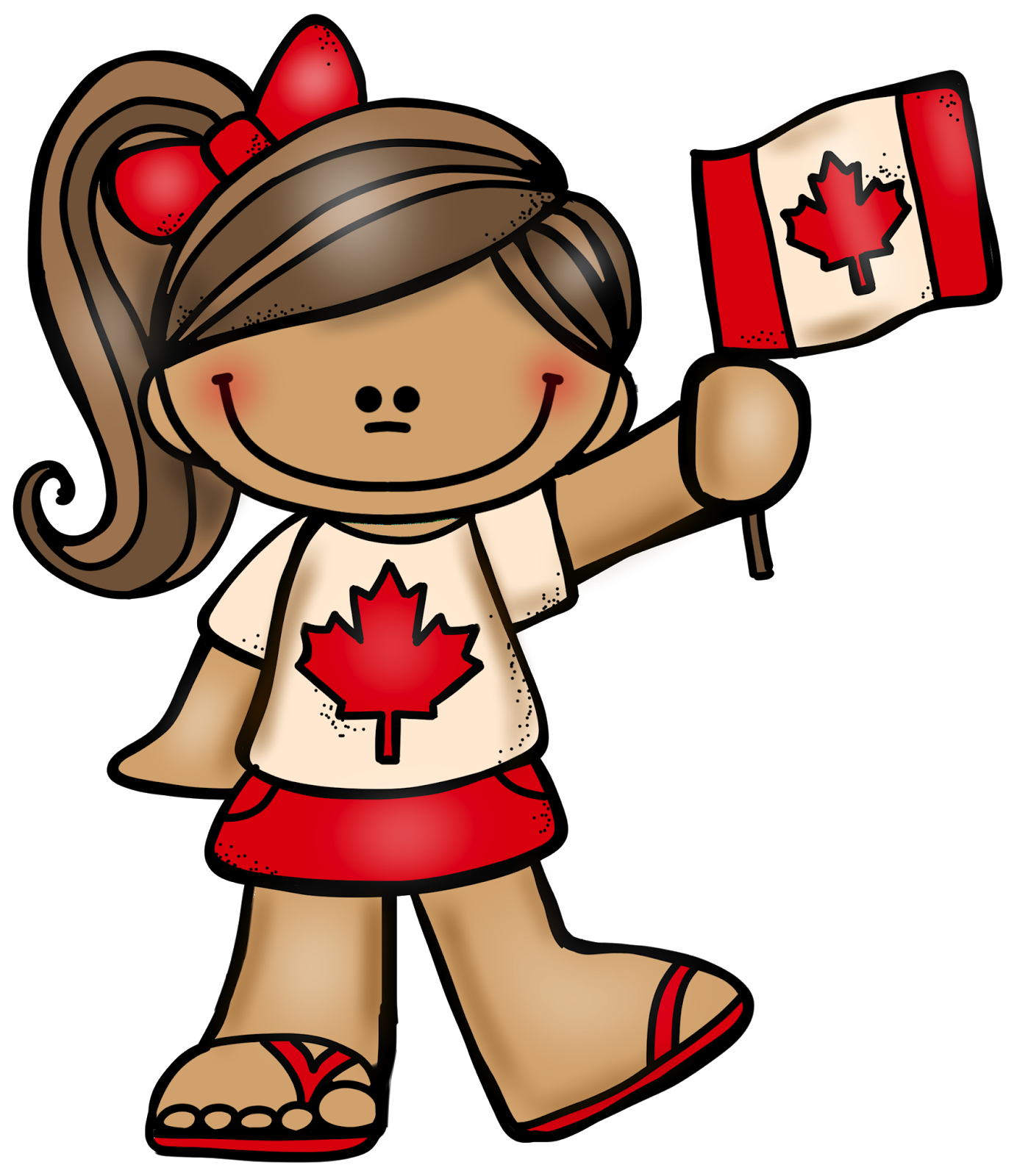 FREE July 1st is Canada Day! Here is a Canadian boy and