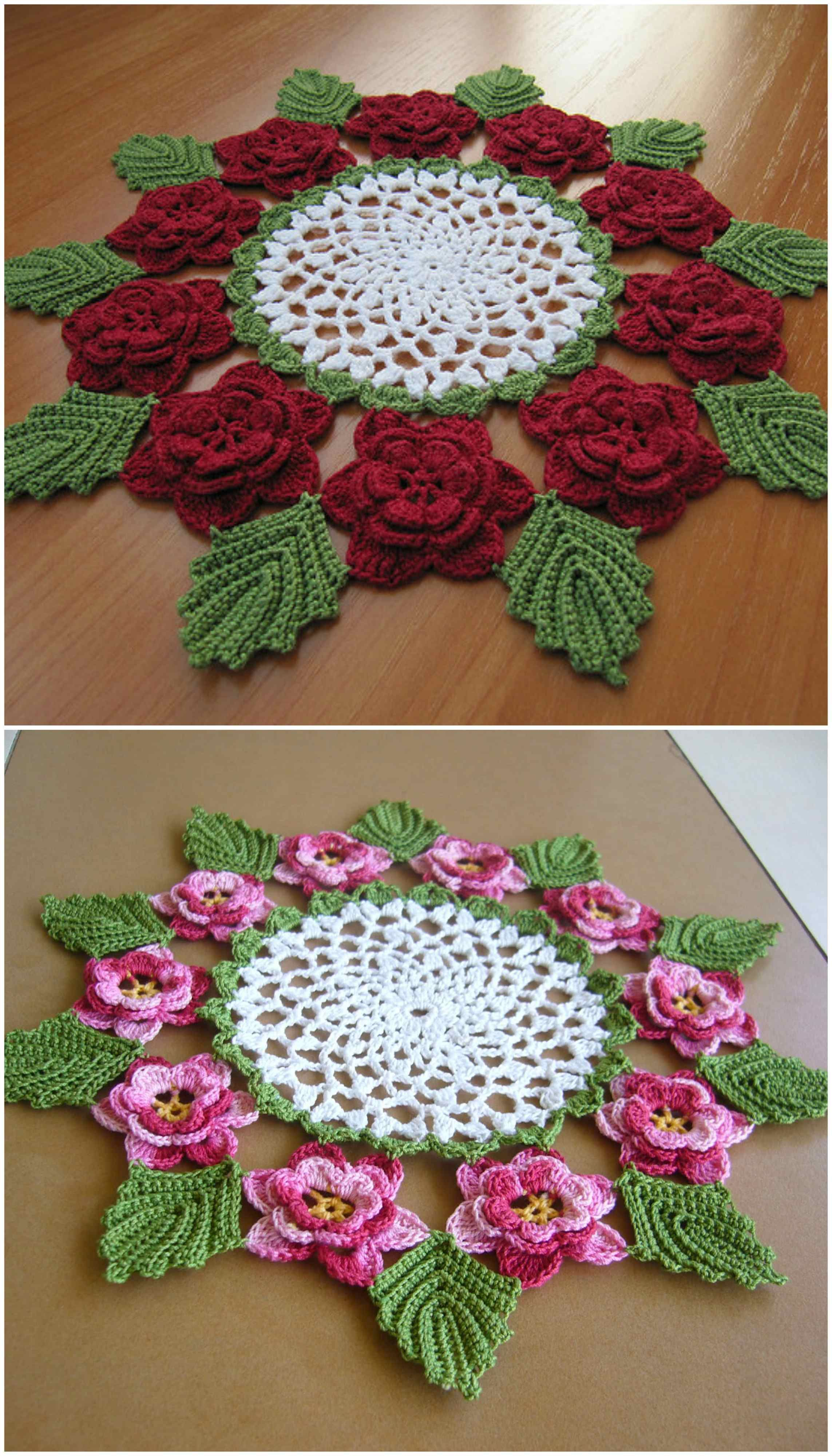 The Rose Doily Craft Ideas Doilies Crochet Doilies Crafts