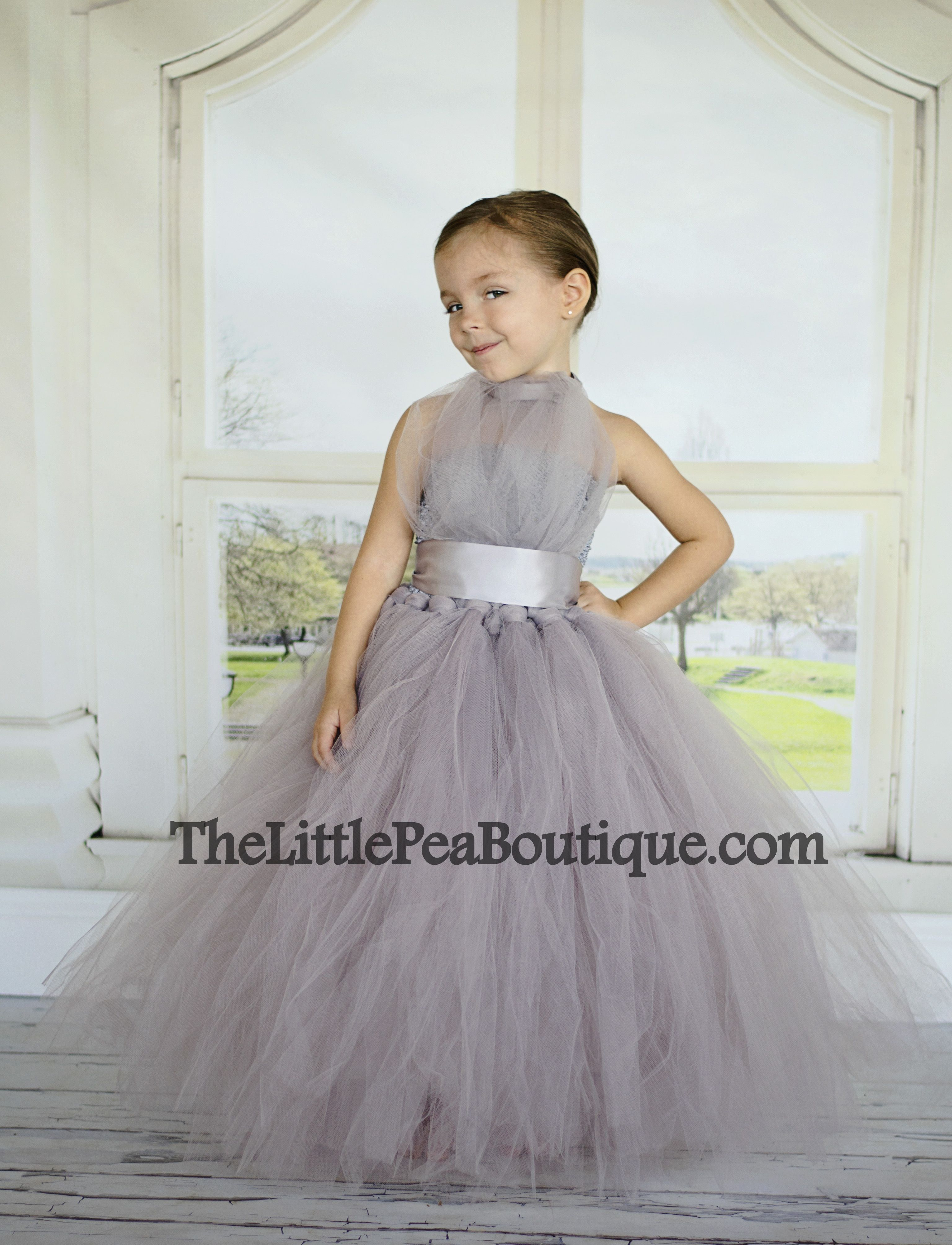 9fc4e89fa Vivian Flower Girl Tutu Dress | Natalees 15 | Little girl pageant ...