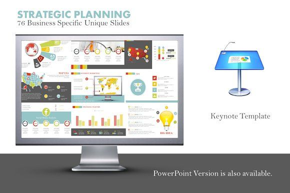 Strategic Planning Keynote Template   Keynote, Template and ...