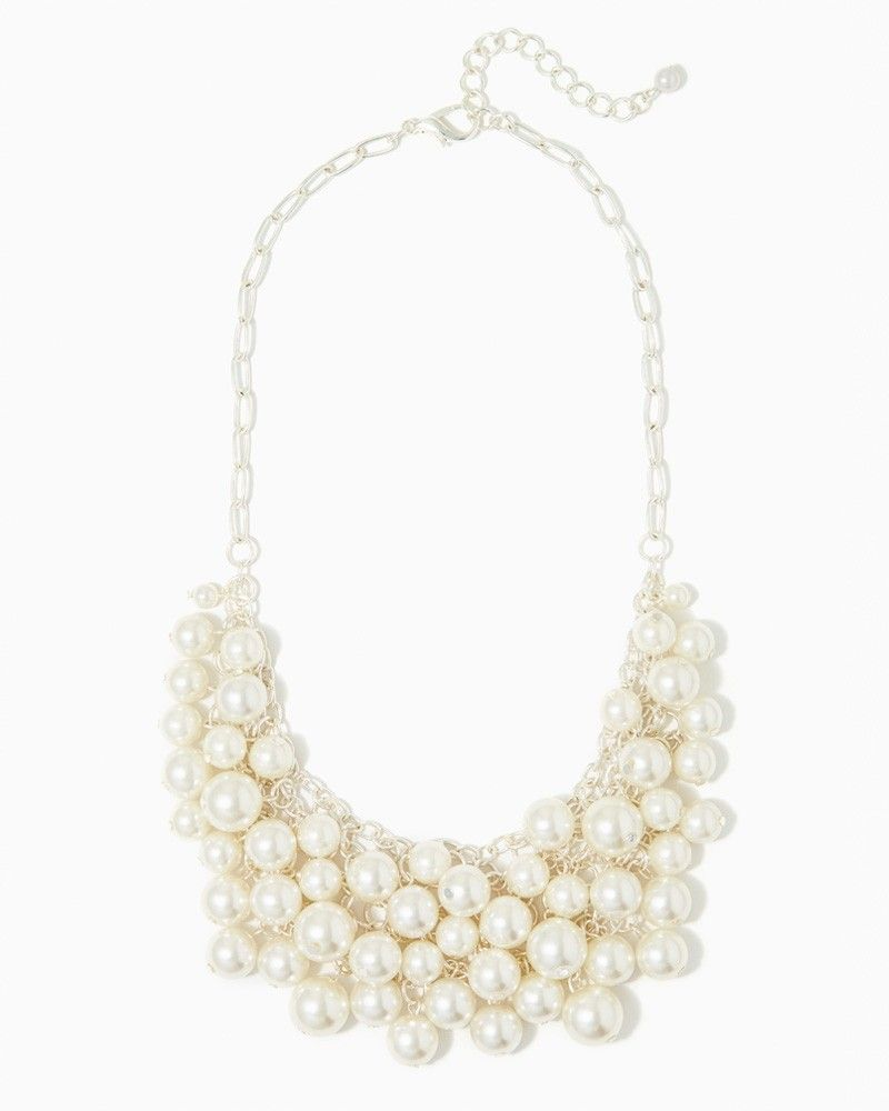 bdd29cdf67416 charming charlie | Pearl Party Statement Necklace | UPC ...