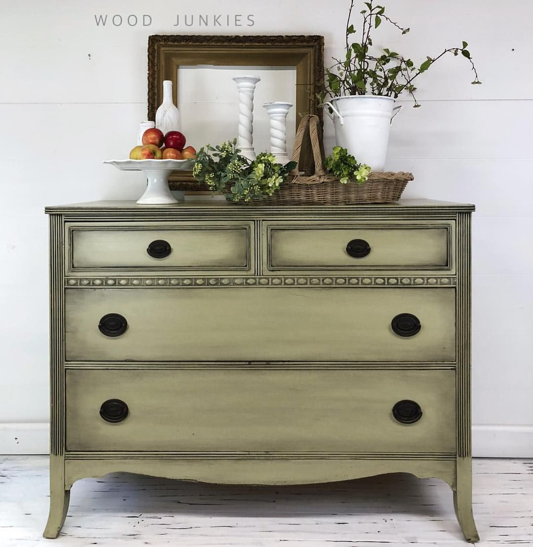 Chalk Paint In Versailles Chest Of Drawers Annie Sloan Painted Furniture Colors