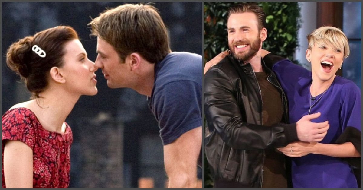 Hollywood Heartthrobs Scarlett Johansson And Chris Evans Have The Kind Of Friendship That All Of Us Wish Chris Evans Chris Evans Girlfriend Chris Evans Funny