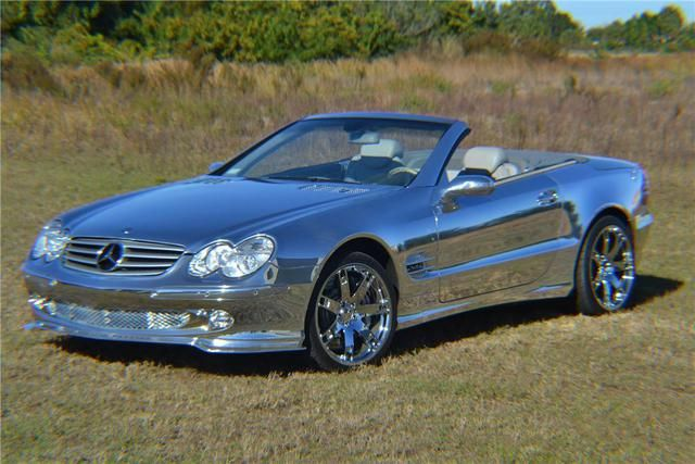 Chrome Renntech Mercedes SL600 Headed to BarrettJackson  Dream
