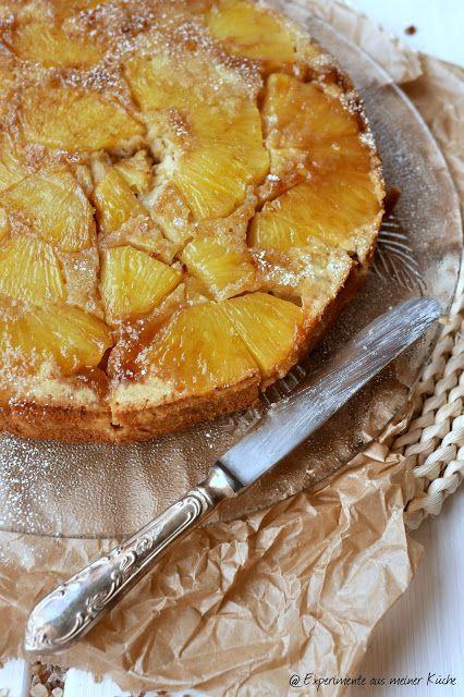 Gestürzter Ananaskuchen mit Grümmel Kandis {Dieser Beitrag enthält - experimente aus meiner küche