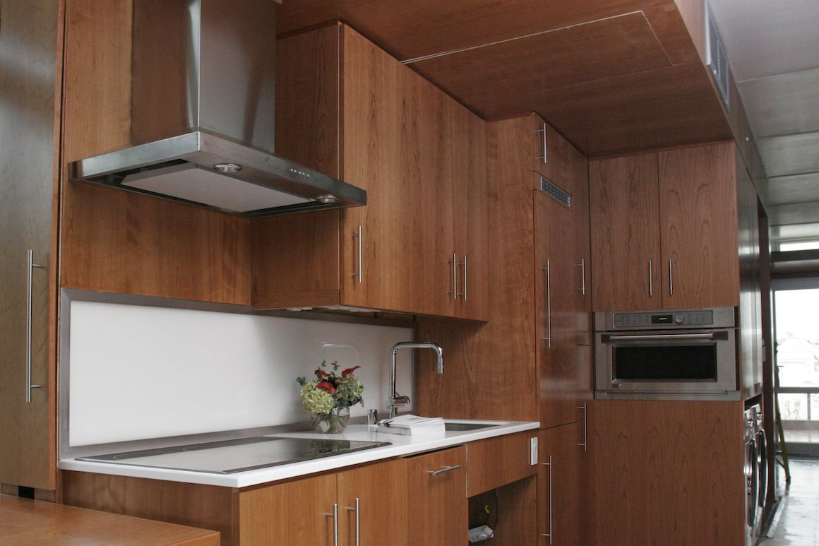 minimalist kitchen set a guide to materials and designs in 2020 plywood kitchen stylish on kitchen cabinets vertical lines id=19360