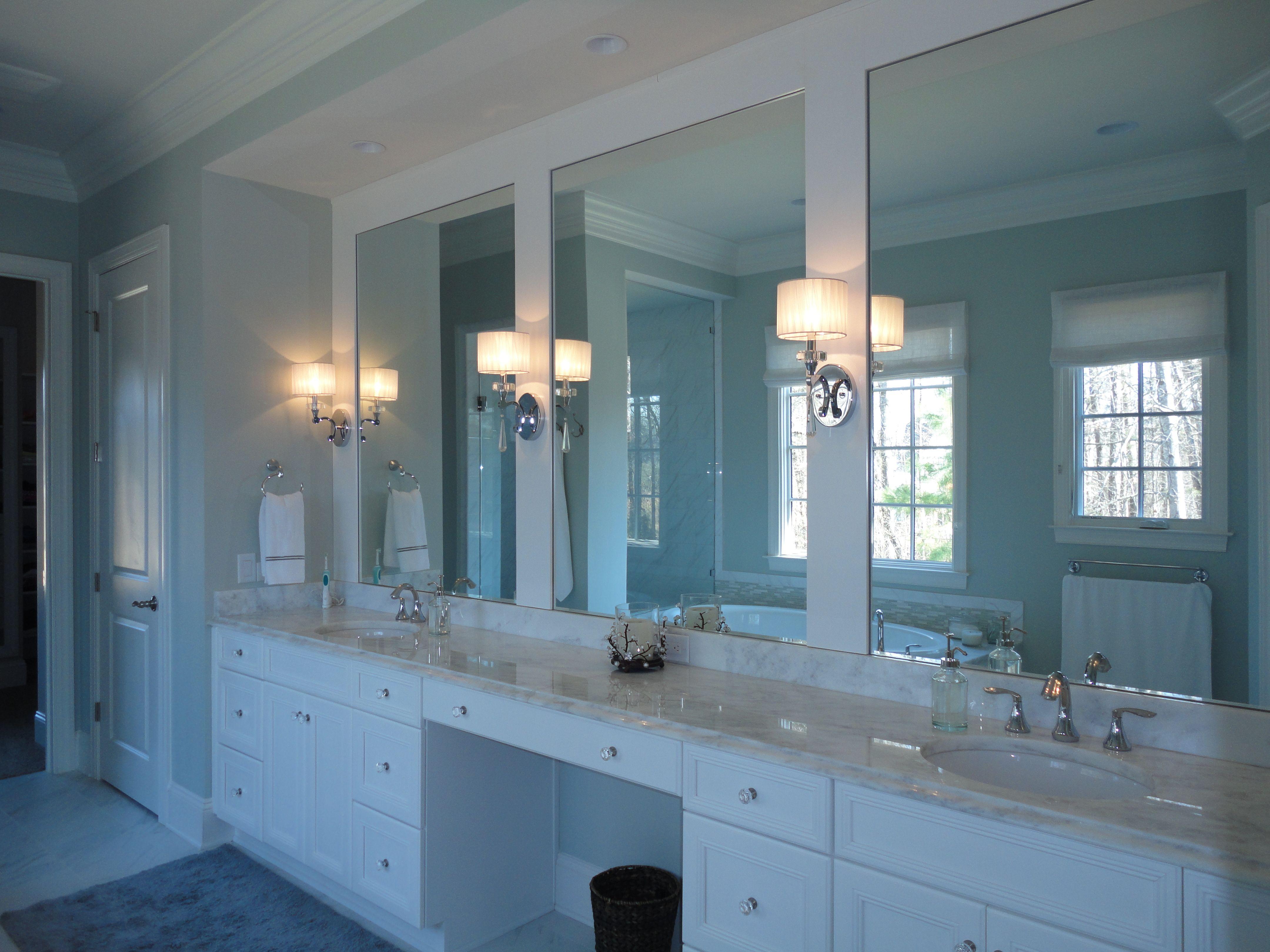 Modern Master Bathroom Tile Pattern - Bathroom - knawi.com