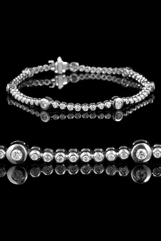 Bijoux majesty ct gold u diamond tennis bracelet jewelry