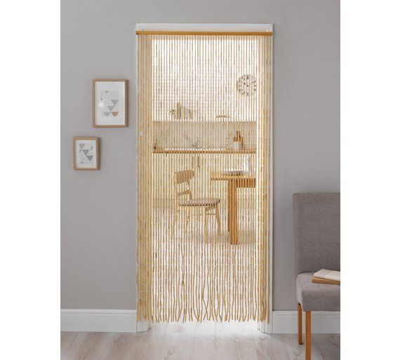 Buy HOME Beaded Door Curtain   Natural At Argos.co.uk, Visit Argos.co.uk To  Shop Online For Curtains, Blinds, Curtains And Accessories, Home  Furnishings, ...