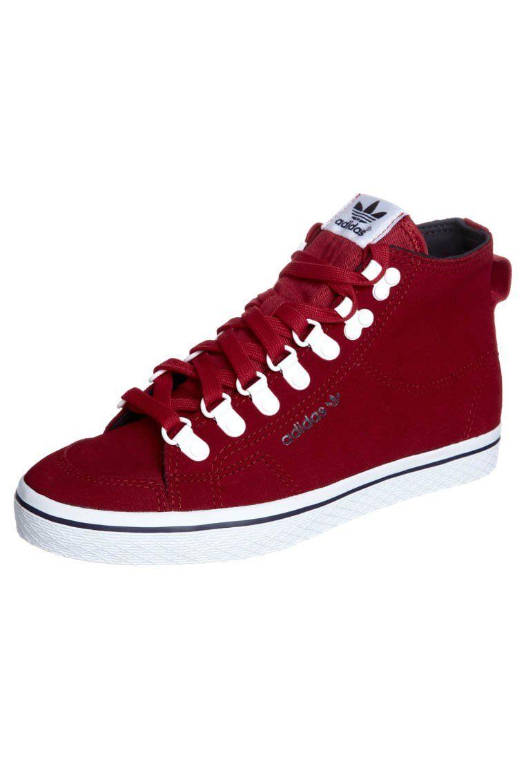 HONEY HOOK Sneakers hoog vivid redrunning white
