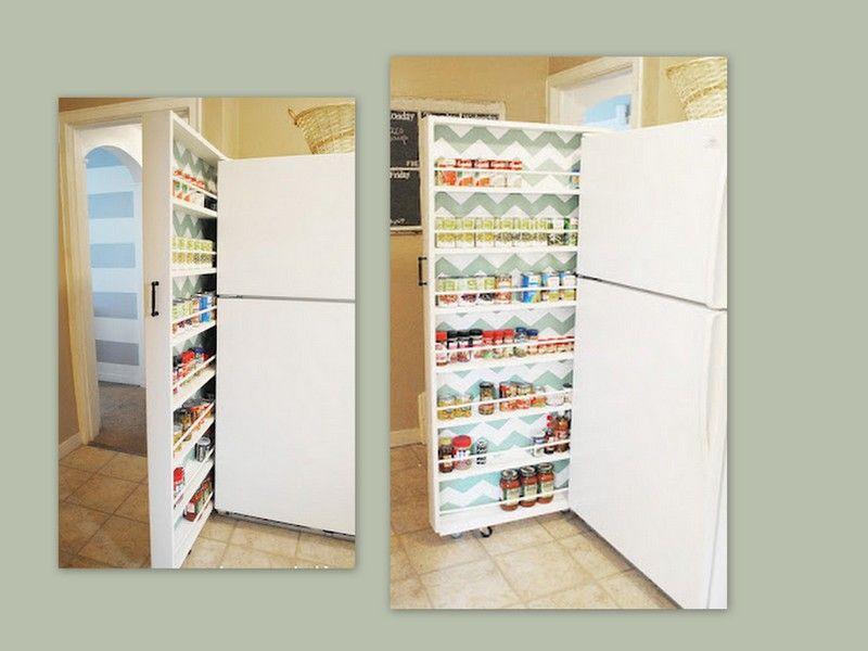 Pq perder aquele espaço do lado da geladeira que só fica ...