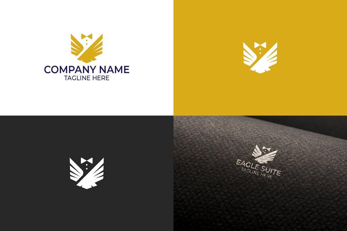 Eagle Logo Design in 2020 Logo design, Eagle logo, Logos
