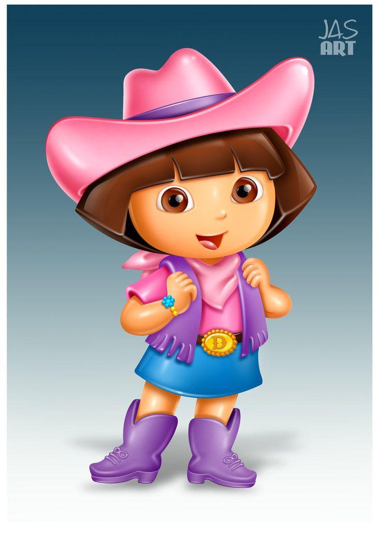 Dora The Explorer By Hasmot Deviantart Com On Deviantart Dora Wallpaper Dora Cartoon Dora The Explorer