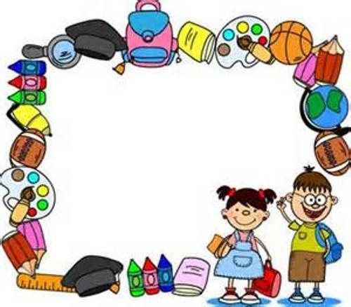 Annabella 67 Art Line Design : Clip art border school clipart escuela pinterest