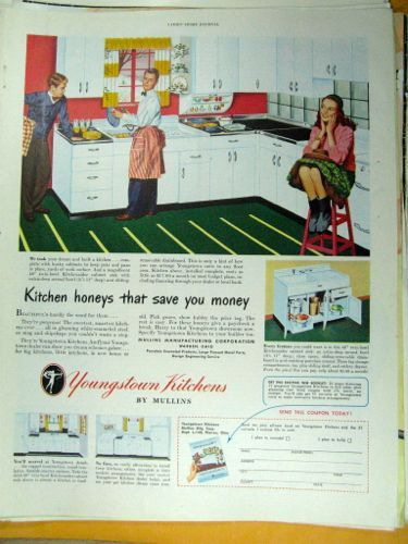 Youngstown Kitchen Cabinets Vintage Advertising Kitchen Wall Art Decor Kitchen Decor Wall Art Metal Kitchen Cabinets Kitchen Design Decor