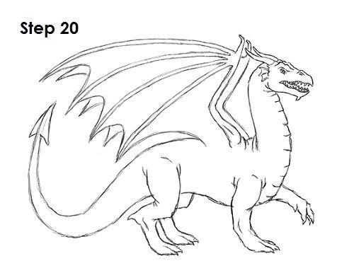draw dragon 20