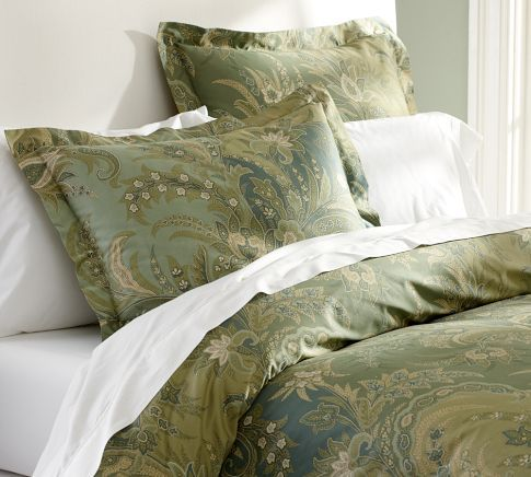 I Found Just Such An Item In The Madeline Paisley Duvet Cover Sham Blue Green Know