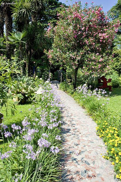 Andre Heller Botanic Garden Gardone Riviera Lago Di Garda Italia Lagodigarda Gardasee Gardameer Lakegarda Botanical Gardens Garden Tours Lake Garda