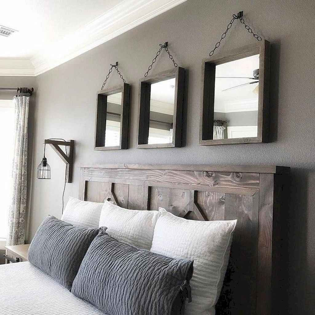 01 Romantic Farmhouse Master Bedroom Ideas In 2019 | Home Sweet