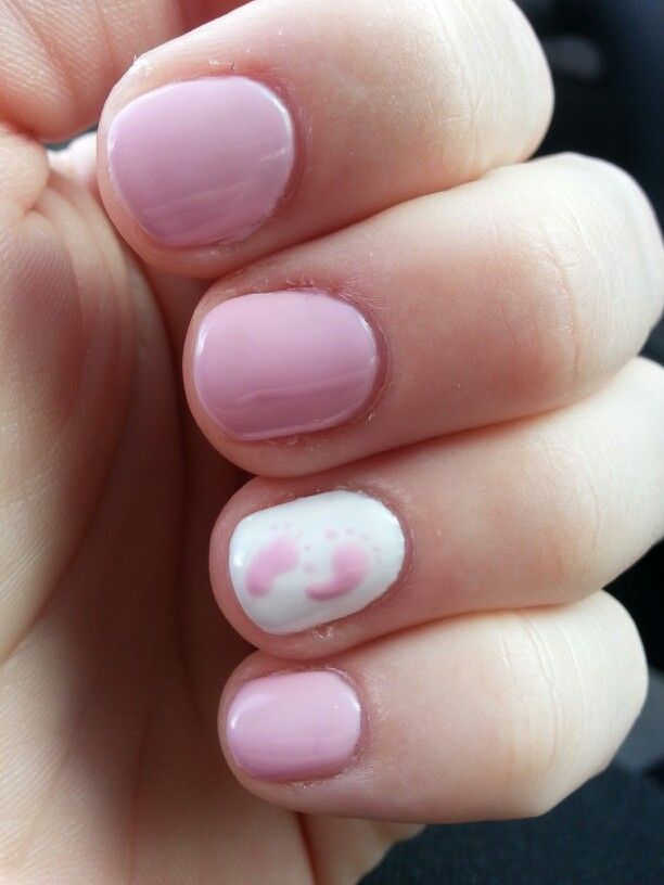 Baby Girl Nails With Images Baby Nails Baby Girl Nails Baby