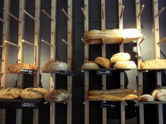Pin By Melissa Mccarriagher On Ideas For Work Bread Display Bakery Display Bakery Bread