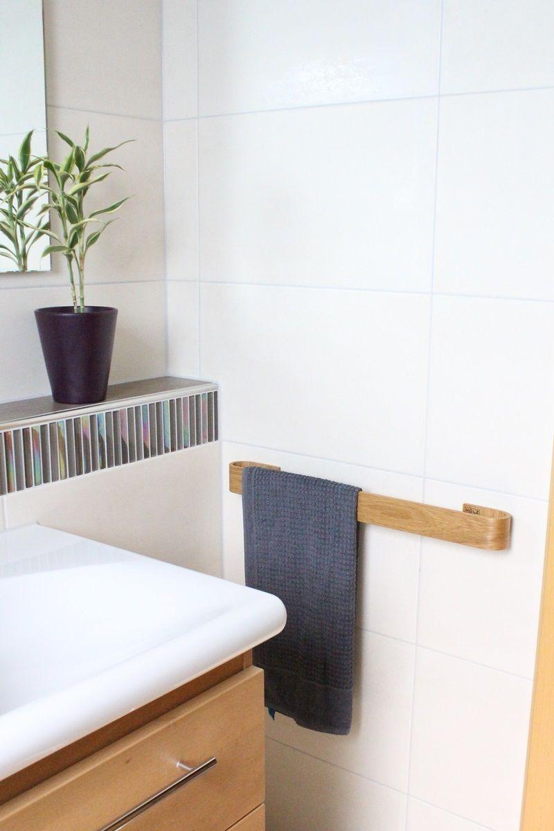 Unsere Handtuchhalter Werden Handgefertigt Im Langenfelder Familienbetrieb Holzdesign Bornert Holzdesign Handtuchhalter Holz Handtuchhalter