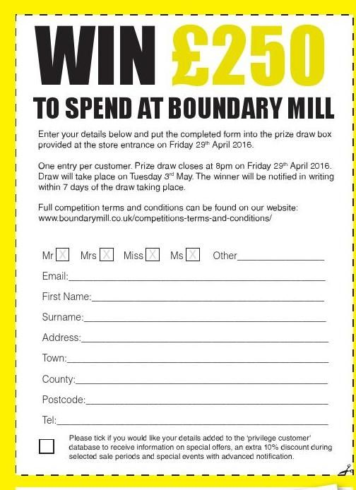 Talking Shop Issue 1 Live Fashion Event Sheffield Birthday Card