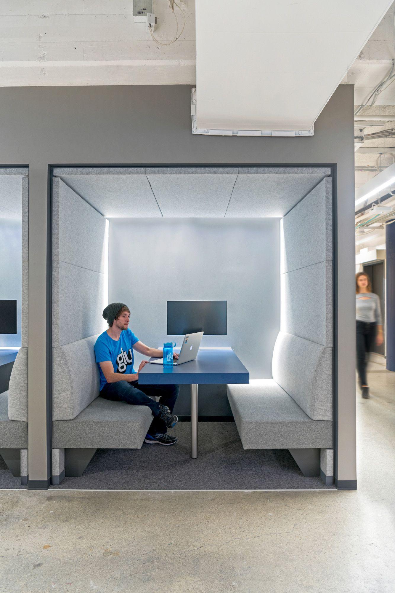 glu mobile - office snapshots   architect office interior