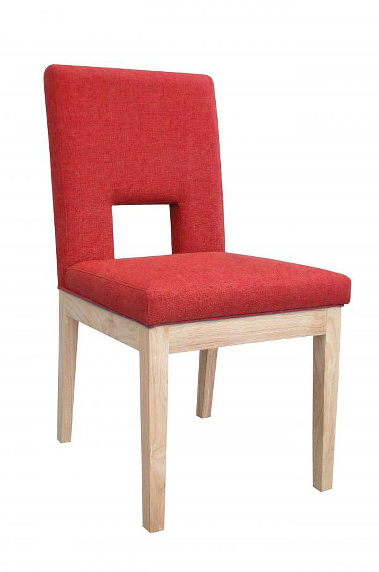 Grenada Red Fabric Chair - www.roncampion.co.uk