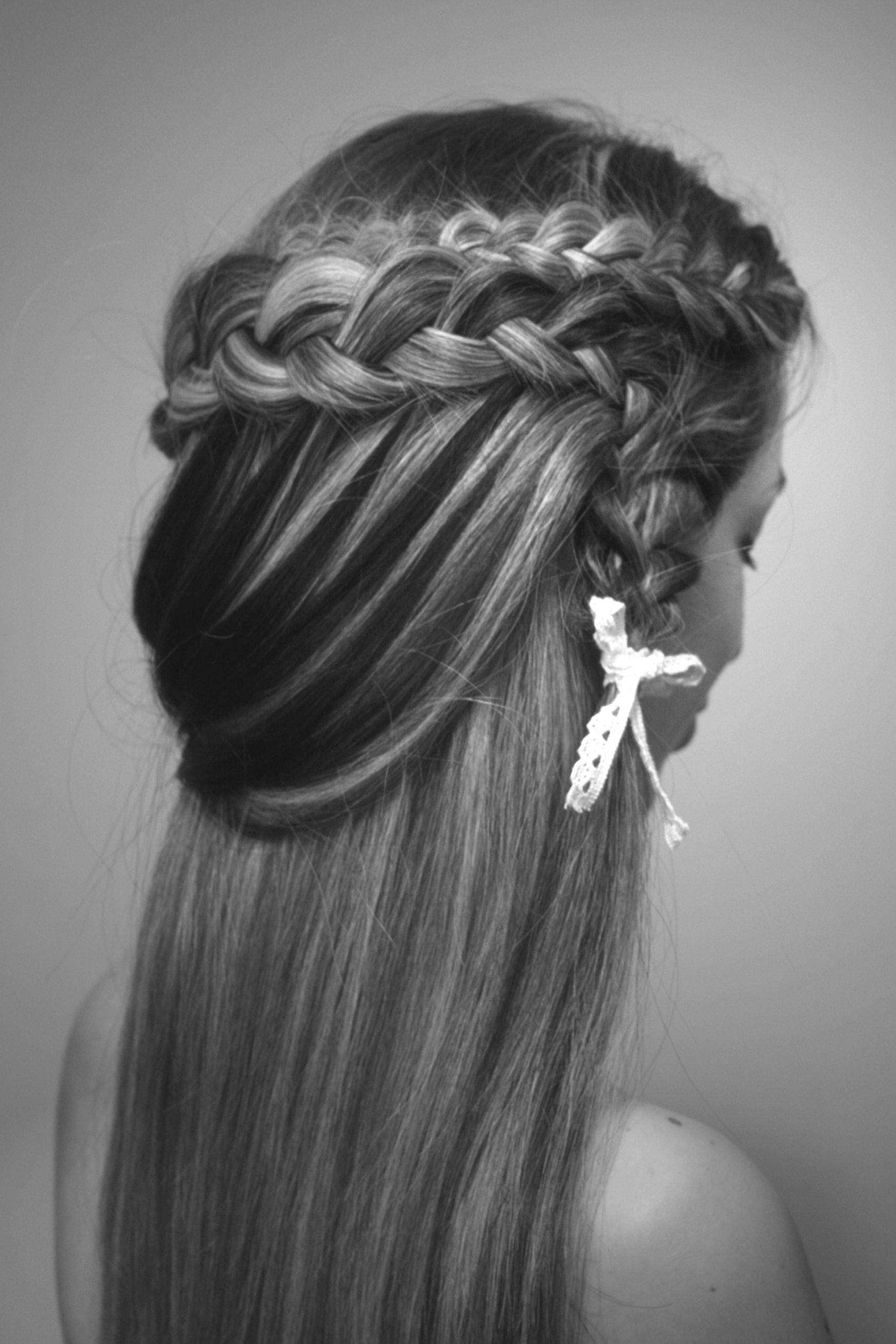 Dutch waterfall waterfall holandesa hairstyle pinterest