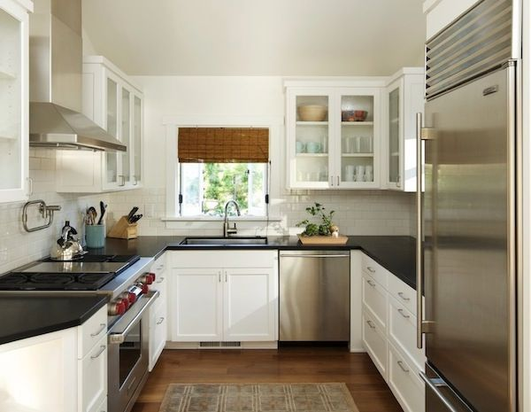 Small Kitchen Looks | 10 Ways To Make A Small Kitchen Appear Bigger